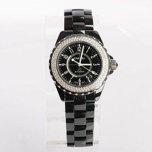 Chanel  Automatic J12 Double Diamond Bezel Watch